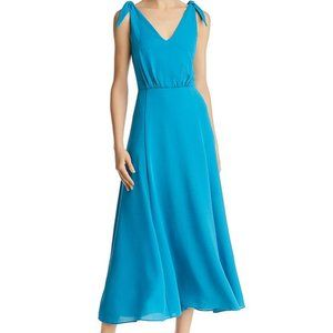 BETSEY JOHNSON pebble georgette crepe dress SZ 10